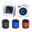 Mini Altavoz Bluetooth con luz LED - RadioFM - MicroSD - 3W - OP-F6164