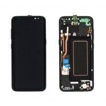 Pantalla Completa Marco color Negro para Samsung Galaxy S8 G950F