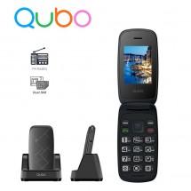 Qubo Neo 2 Teclas grandes Dual Sim Radio FM - NUEVO (2 años de garantía) Negro