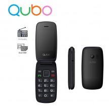 Qubo Neo Teclas grandes Dual Sim Radio FM - NUEVO (2 años de garantía) Rojo