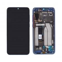 Pantalla completa ORIGINAL con marco Azul para Xiaomi Mi 9 SE / Mi9 SE