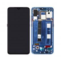 Pantalla completa ORIGINAL con Marco Azul para Xiaomi Mi 9 / Mi9