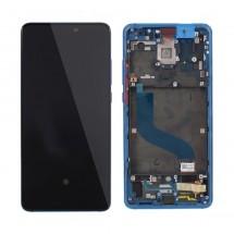 Pantalla completa Original con marco Azul para Xiaomi Mi 9T / Redmi K20
