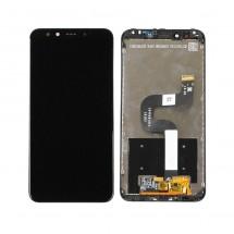 Pantalla completa Original con Marco negro Xiaomi Mi 6X / Mi A2 / Redmi 6X