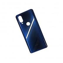 Tapa trasera color azul para Motorola One Vision