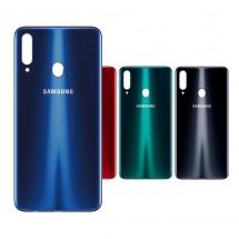 Tapa trasera para Samsung Galaxy A20s A207 - elige color