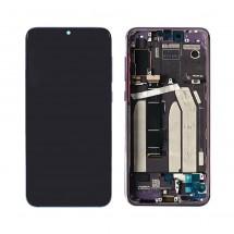 Pantalla completa ORIGINAL con marco Violeta para Xiaomi Mi 9 SE / Mi9 SE