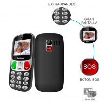 Teléfono Yingti T47 teclas extragrandes DualSim Tecla SOS (2 años de garantía) nuevo