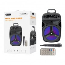 Altavoz Bluetooth Luz nocturna LED 7 colores 7W Radio FM MicroSD OP-F5999