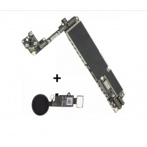 Placa Base Libre 256Gb con Boton Home color negro para iPhone 7G (swap)