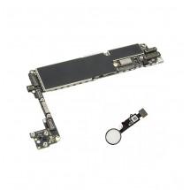 Placa Base Libre 256Gb con Boton Home color blanco para iPhone 7 (swap)
