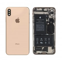 Chasis tapa ORIGINAL con componentes Grado A iPhone XS Max (swap) Dorado