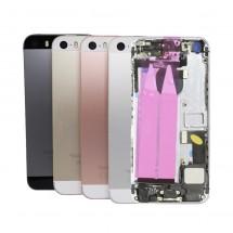 Chasis tapa trasera con componentes para iPhone SE