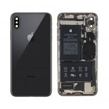 Chasis tapa ORIGINAL con componentes Grado A iPhone XS Max (swap) Negro