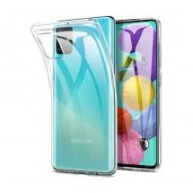 Funda TPU Silicona Transparente para Samsung Galaxy A51