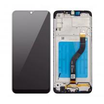 Pantalla completa LCD y tácil con marco Samsung Galaxy A20s A207F