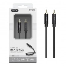 Cable audio cobre RCA macho-macho longitud 2m OP-BT922