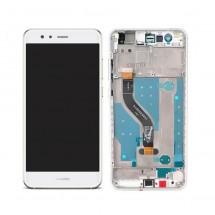 Pantalla completa Original con marco Huawei P10 Lite / Nova Lite (swap) blanca