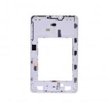 "Marco frontal display Samsung Galaxy Tab A 10.1"" T580 T585 (swap) blanco"
