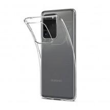 Funda TPU Silicona Transparente para Samsung Galaxy S20 Ultra
