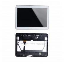 Pantalla Original con marco blanco Samsung Galaxy Tab 4 T530 T531 T535 (swap)