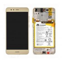 Pantalla completa Original con marco y batería Huawei P10 Lite / Nova Lite (swap) dorado