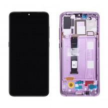 Pantalla completa ORIGINAL con Marco Purpura / violeta para Xiaomi Mi 9 / Mi9