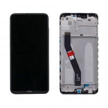 Pantalla completa Original con marco para Xiaomi Redmi 8 / Redmi 8A Negro