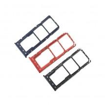 Bandeja porta tarjeta Sim Dual para Samsung Galaxy A10s A107F