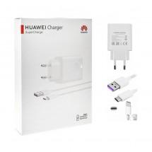 Cargador Super Rápido ORIGINAL Huawei Tipo-C de 4A Max 22.5W en caja