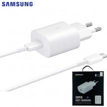 Cargador Super Rápido EP-TA800 ORIGINAL Samsung 3A Blanco con caja