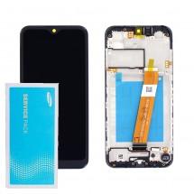 Pantalla Original Service Pack con marco Samsung Galaxy A01 A015 2020