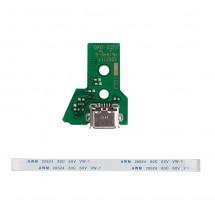 Placa conector de carga para mando Playstation PS4 JDS-040 con Flex