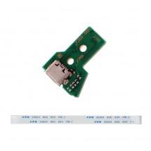 Placa conector de carga para mando Playstation PS4 JDS-050 con Flex