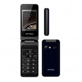 iPRO V10 Dual Sim Radio FM MP3 Linterna - NUEVO (2 años de garantía) Negro