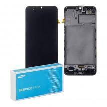 Pantalla Original Service Pack con marco Samsung Galaxy M30s M307