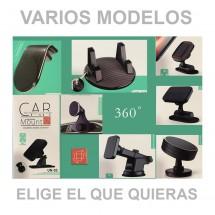 Soporte Magnético Coche para móviles 360º Rejilla Salpicadero