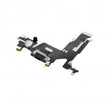 Flex conector carga y micrófonos para iPhone 11 - negro