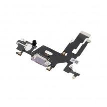 Flex conector carga y micrófonos para iPhone 11 - púrpura