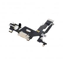 Flex conector carga y micrófonos para iPhone 11 - blanco