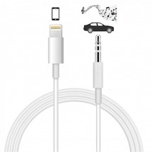 Cable audio iPhone lightning a jack 3.5mm longitud 1m NW-FSD1459