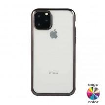 Funda TPU resistente antigolpes translucida borde color iPhone