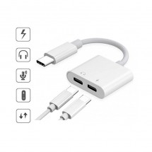 Adaptador conector Tipo-C a Jack digital 3.5mm Samsung iPad Huawei - NW-FSD1508