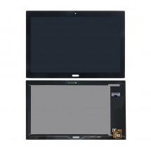 Pantalla completa LCD y táctil negro Lenovo Tab4 10 Plus TB-X704