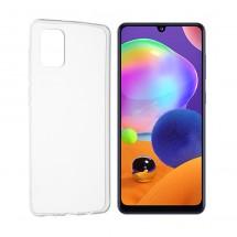 Funda TPU Silicona Transparente para Samsung Galaxy A31