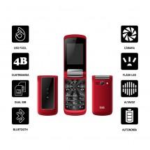 Stima Pro SM820 DUAL Tapa y Teclas grandes - NUEVO (2 años de garantía) Rojo