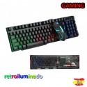 Conjunto Gaming Teclado Retroiluminado y Ratón Xtrike Me MK-804KIT