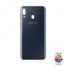 Tapa color negro para Samsung Galaxy M20