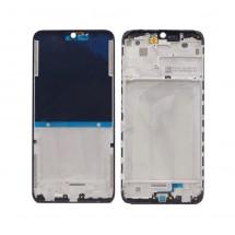 Marco chasis frontal pantalla para Xiaomi Redmi 8 Negro