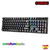 Teclado Retroiluminado Gaming Xtrike Me KB-280 Español